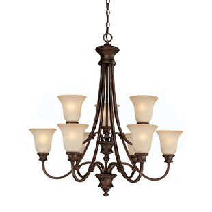 Darby Home Co Colden 9-Light Shaded Chandelier