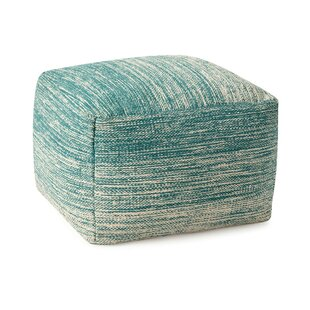 Goodwater Handwoven Pouf by Highland Dunes