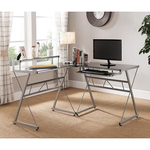 Latitude Run Aden L-Shape Computer Desk