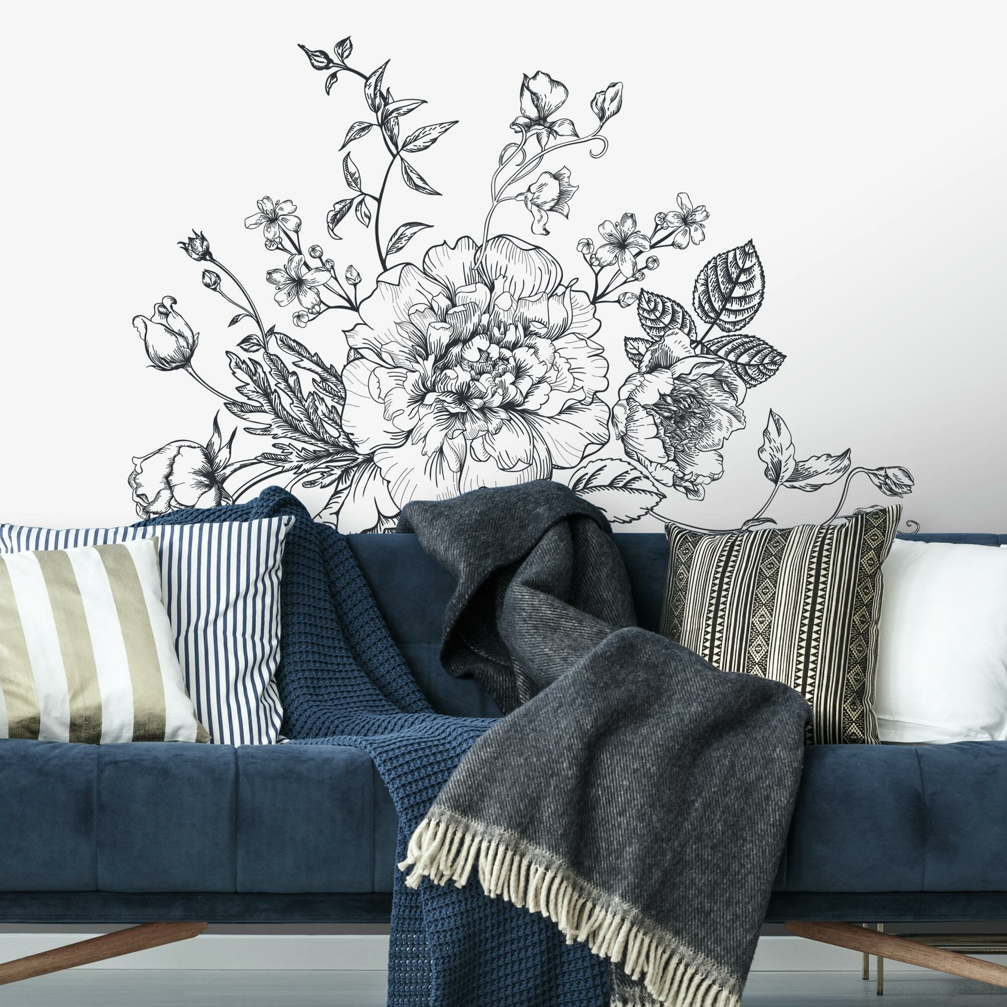 Trees And Flower Wall Decals You Ll Love In 2021 Wayfair