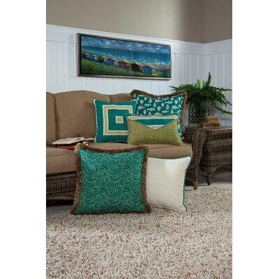 Sparling Large Indoor/Outdoor Sunbrella Throw Pillow by Bay Isle Home Best Design