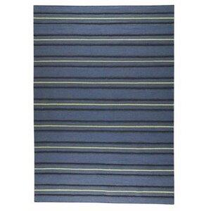 Savannah Striped Blue Area Rug