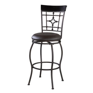 Akanksha Adjustable Height Bar Stool by Red Barr..