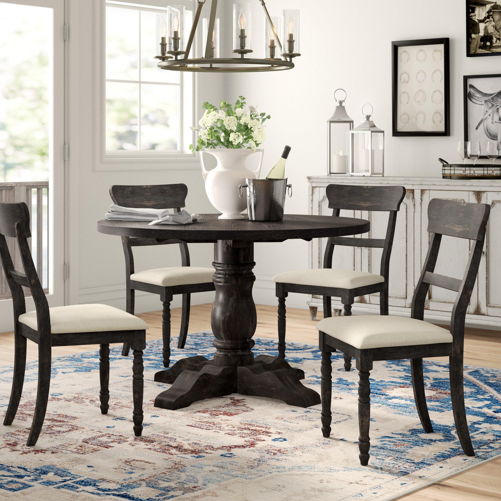Strange Three Posts Sandown 5 Piece Dining Set Reviews Wayfair Ibusinesslaw Wood Chair Design Ideas Ibusinesslaworg