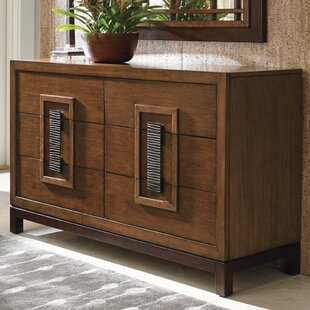 Island Fusion Tahara 6 Drawer Double Dresser by Tommy Bahama Home