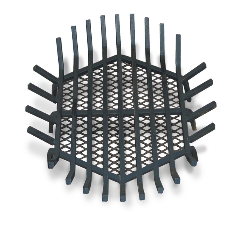 Round Fire Pit Grate - Master Flame Round Fire Pit Grate & Reviews Wayfair