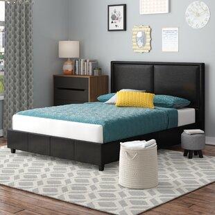 Wade Logan Alvin Upholstered Platform Bed