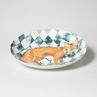 Into the Woods Fox Large Decorative Plate & Extra Large Decorative Plates | Wayfair