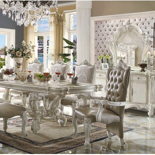 Welton Button Tufted Upholstered Dining C..