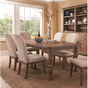 Panama Jack Home South Mountain Farmhouse Extendable Dining Table Set