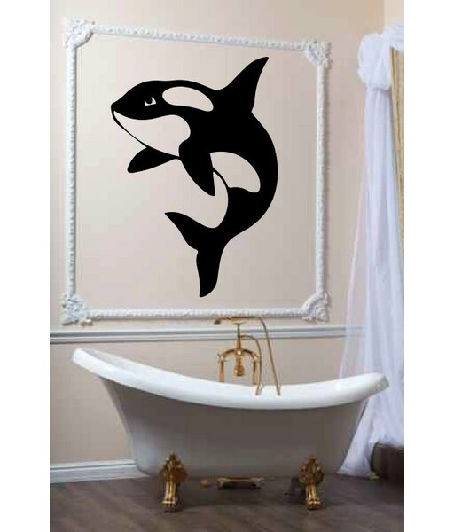 Zoomie Kids Hutsonville Orca Killer Whale Personalized Wall Decal Wayfair