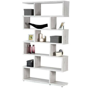 display zig natural shelf in unit polish by case book dekor cum buy u wood zag bookcase
