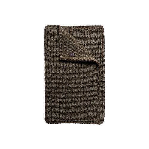Ullmatta Looped/Hooked Cotton and Wool Brown Rug Himla Rug