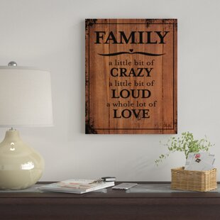 Family Quotes Wall Art Wayfair