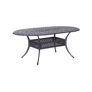 Baltazar Aluminum 7 Piece Sunbrella Dining Set with Sunbrella Cushions