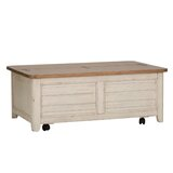 Kreutzer Solid Wood Coffee Table with Storage by One Allium Way®