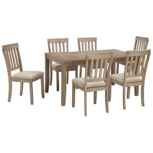 Quick 7 Piece Breakfast Nook Dining Set (..