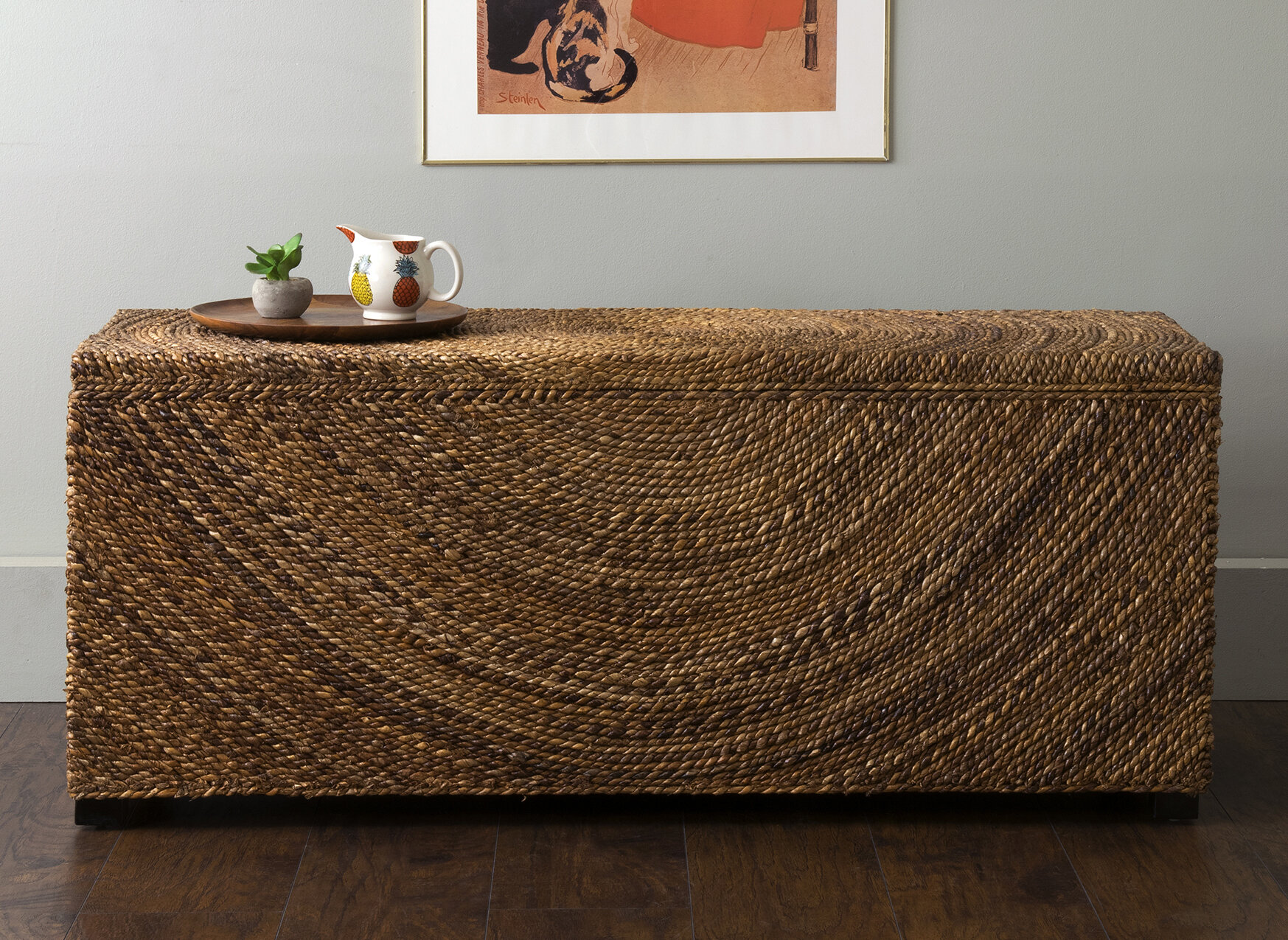 Swell Wilmer Wood Storage Bench Creativecarmelina Interior Chair Design Creativecarmelinacom