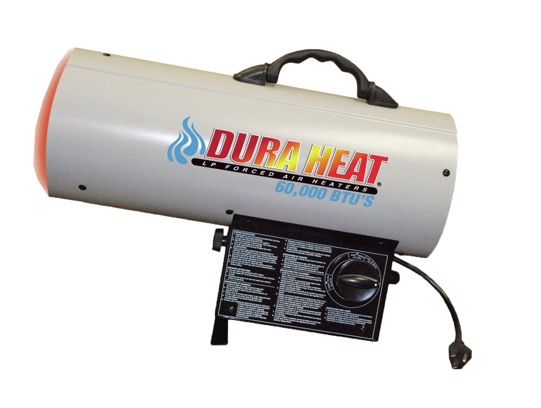 AZ Patio Heaters 40,000 BTU Propane Forced Air Utility Portable Garage Heater