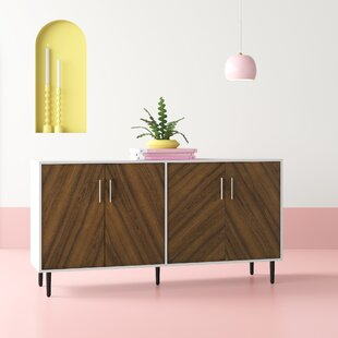 Keiko Modern Bookmatch Sideboard by Hashtag Home