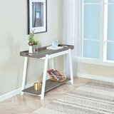 Lukasz 42 Solid Wood Console Table by Latitude Run®