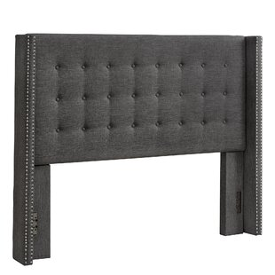 Bourgeois Upholstered Wingback Headboard