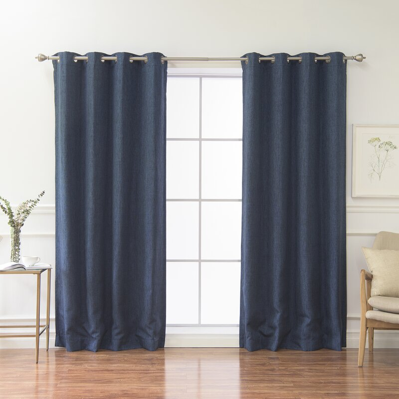 roth in dusty allen curtain grommet curtains pierston shop polyester thermal panel blackout lined single blue pd