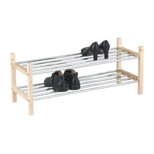 8 Pair Stackable Shoe Rack By 17 Stories