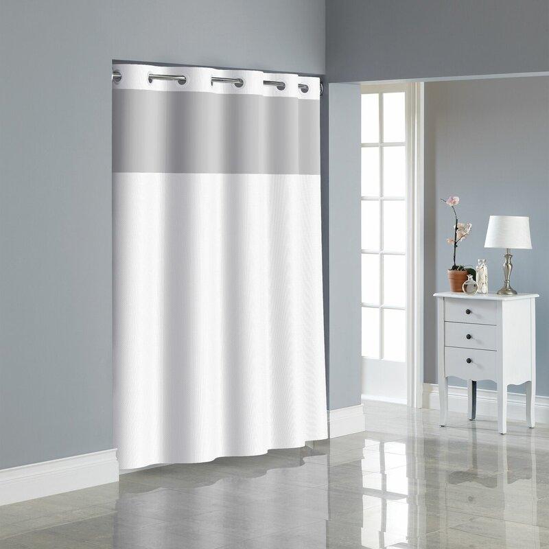 Dobby Texture Shower Curtain