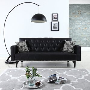 Modern Tufted Sleeper Sofa by Varick Gallery