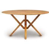 Exeter Round Solid Wood Dining Table by Copeland Furniture