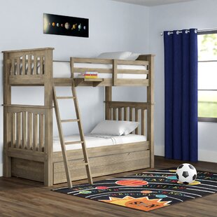 Great Price Stella Twin Bunk with Trundle by Grovelane Teen Reviews (2019) & Buyer's Guide