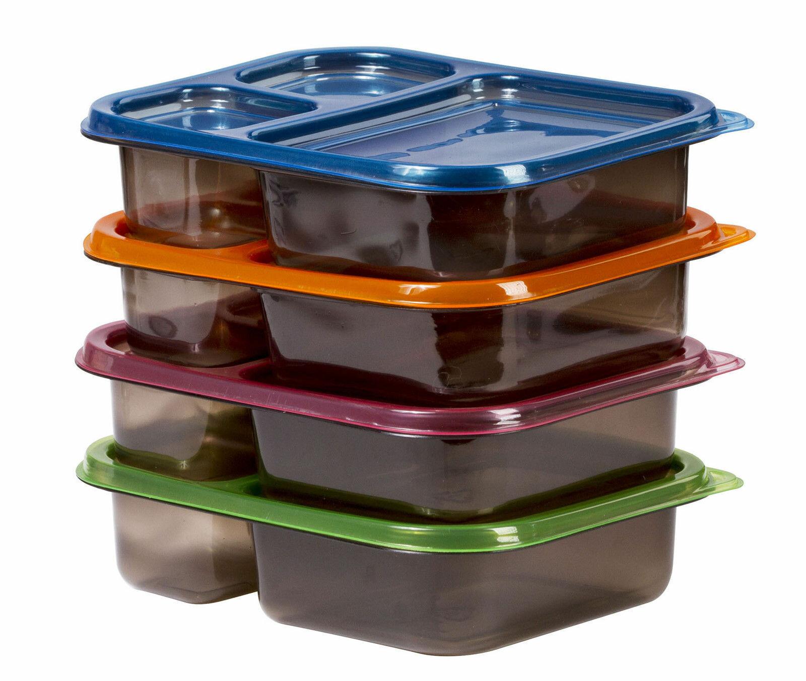 Rebrilliant Meal Prep 4 Container Food Storage Set Reviews Wayfair