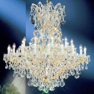 Maria Thersea 31-Light Empire Chandelier by Classic Lighting