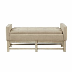 Ophelia & Co. Bauer Upholstered Storage Bench