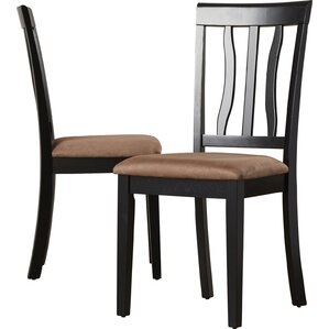 Woodward Side Chair with Cushion (Set of 2) by Three Posts