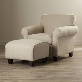 Aine Armchair and Ottoman by Andover Mills SKU:BD939978 Details