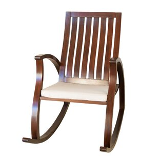 Indie Rocking Chair with Cushion