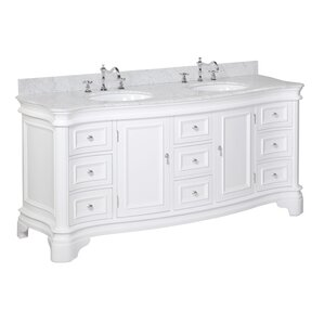 white double sink vanity.  Double Vanities You ll Love Wayfair