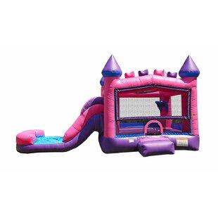 Princess Bricks Athletic Bounce House By JumpOrange