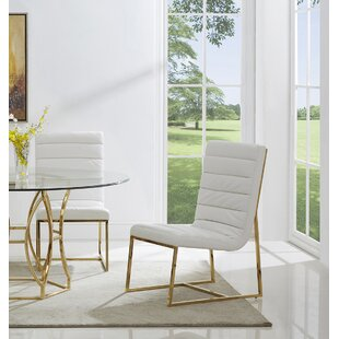 J.J. Upholstered Dining Chair (Set of 2) Orren Ellis