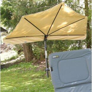 Sunscreen 0.4m Beach Parasol By Holly