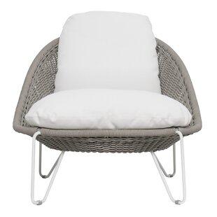 Archipelago Aegean Patio Chair with Sunbrella Cushions by Seasonal Living
