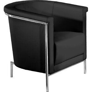 Blanca Leatherette Barrel Chair by Bellini M..