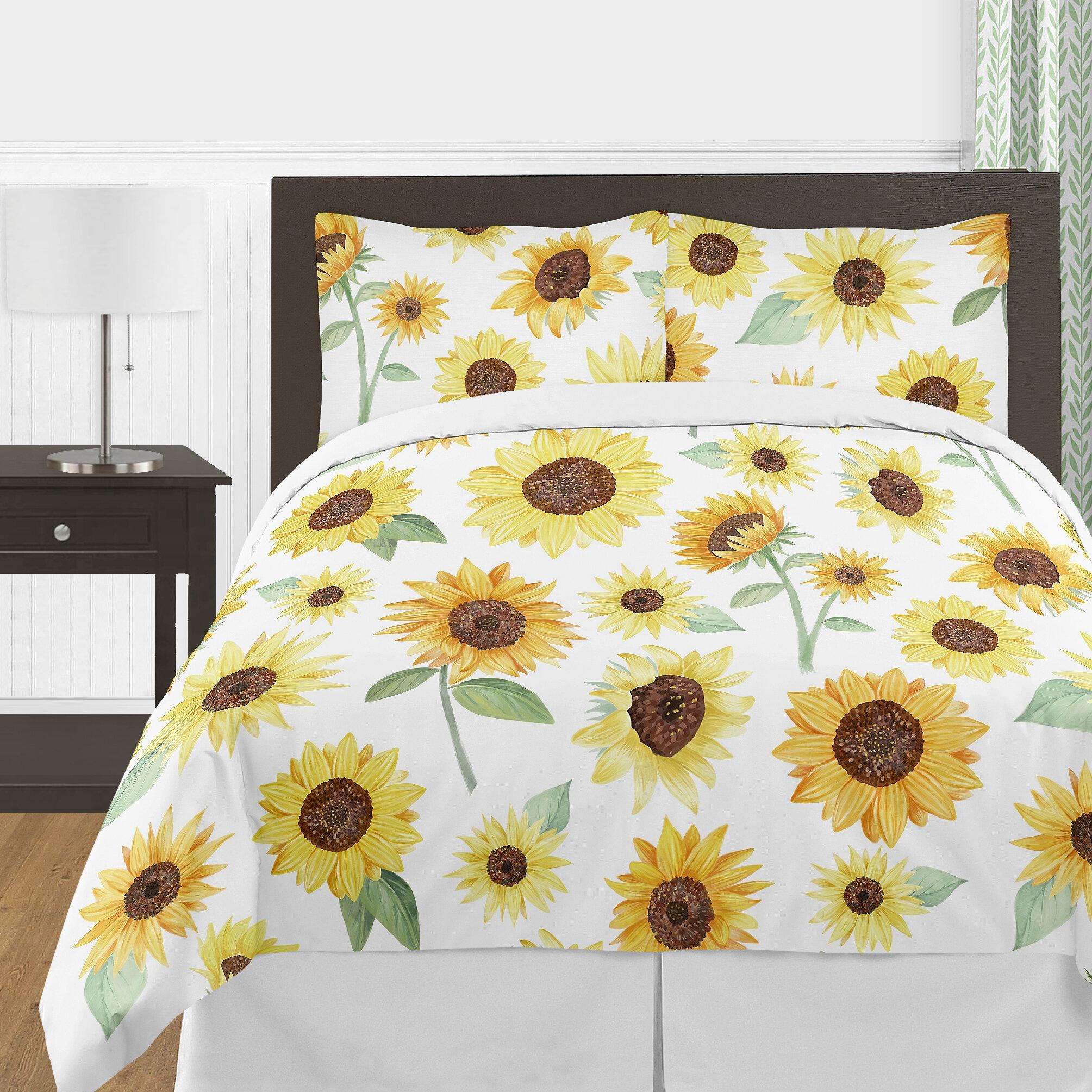 Sweet Jojo Designs Sunflower Bedding Comforter Set Reviews Wayfair