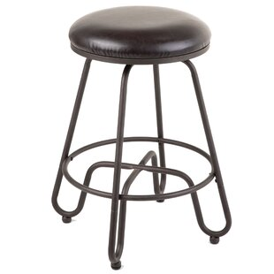 Gracie Oaks Eagleswood Swivel Bar Stool
