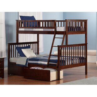Compare prices Shyann Bunk Bed with Storage ByViv + Rae