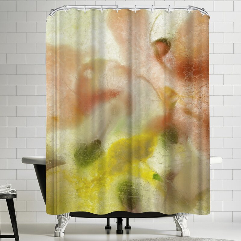 East Urban Home Zina Zinchik Summer Time Single Shower Curtain Wayfair