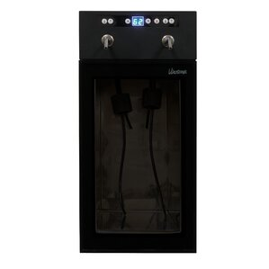 2 Bottle Single Zone Built-In Wine Cooler by Vinotemp