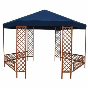 Review Fredson 4m X 2.5m Wood Patio Gazebo